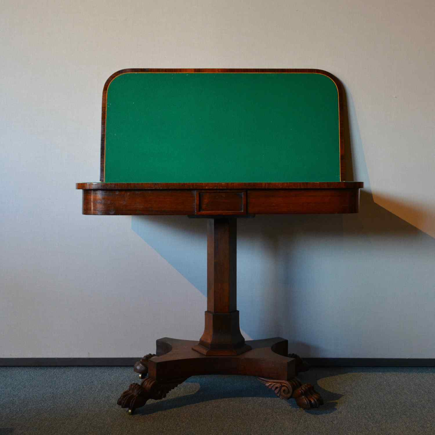 Antique game table France 19th century