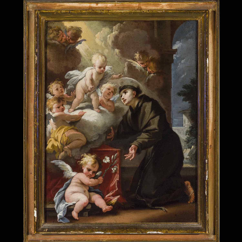 Peinture ancienne Camillo Sagrestani Florence 1660 - 1731