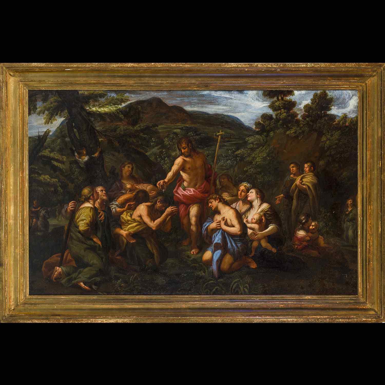 Lazzaro Baldi Baptême des foules