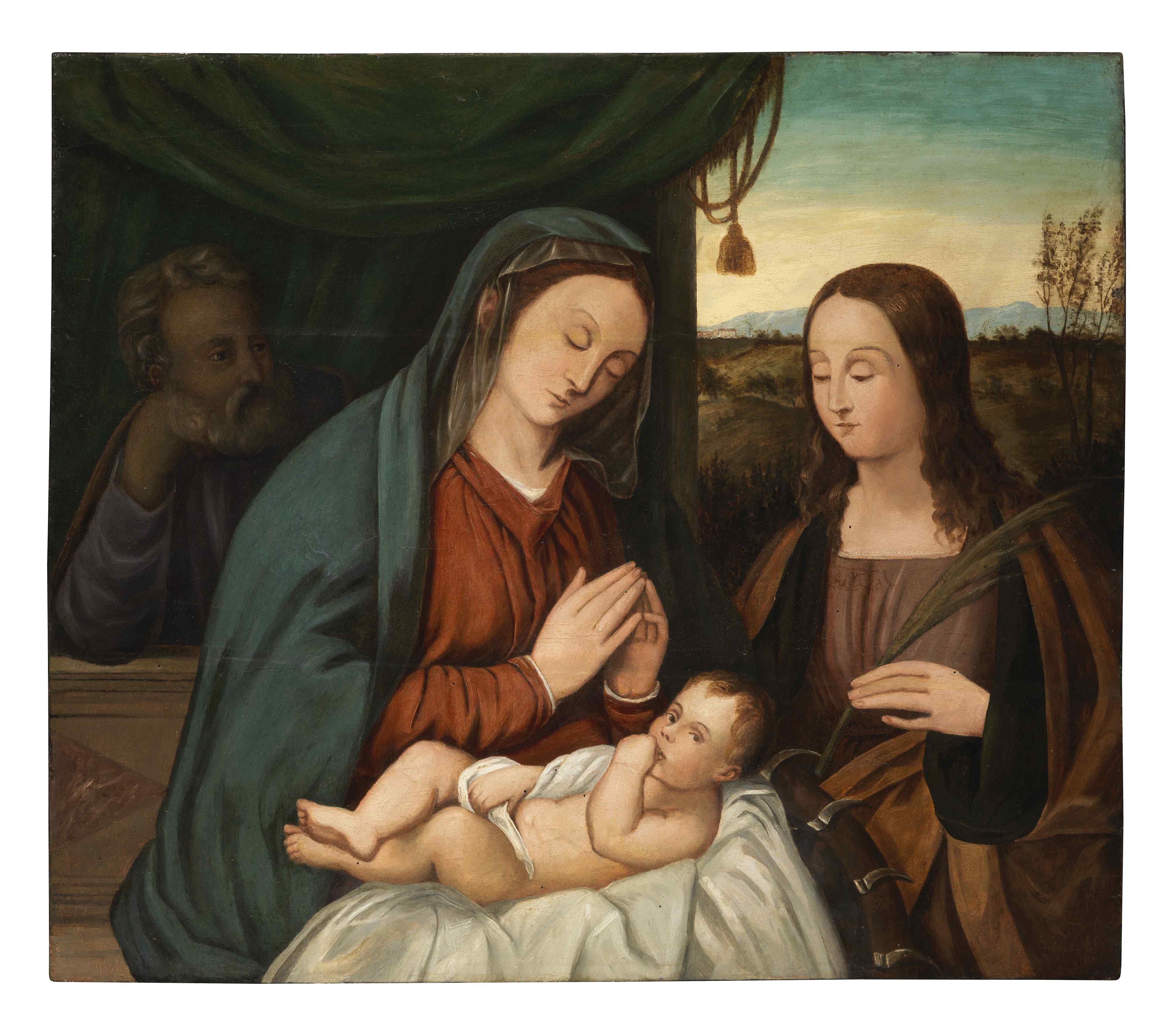 Francesco Rizzo da Santacroce (1485-1545) - Sainte Famille