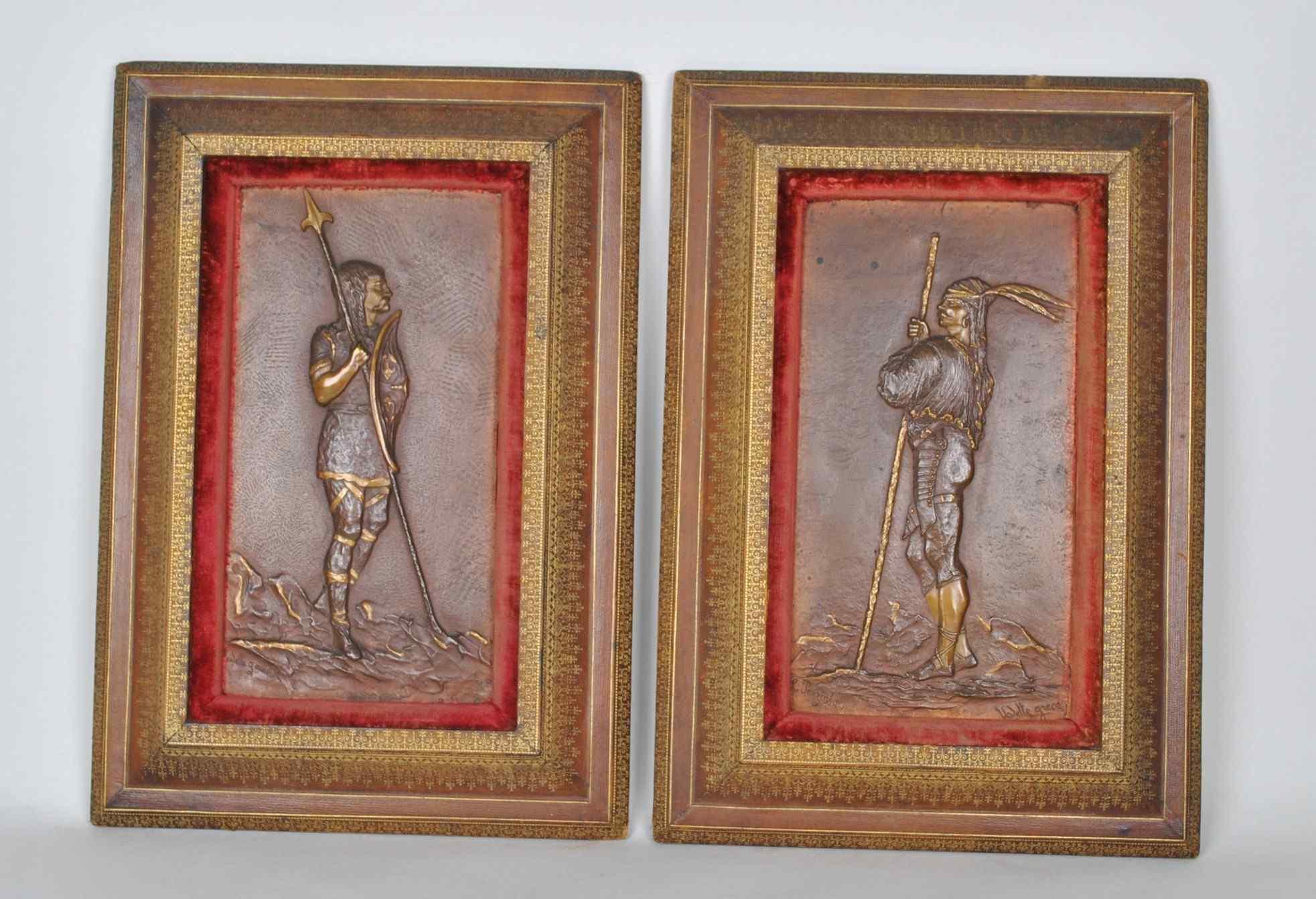 L Perzinka, Star greca e Rebelle Gaulois, bronzo XIX