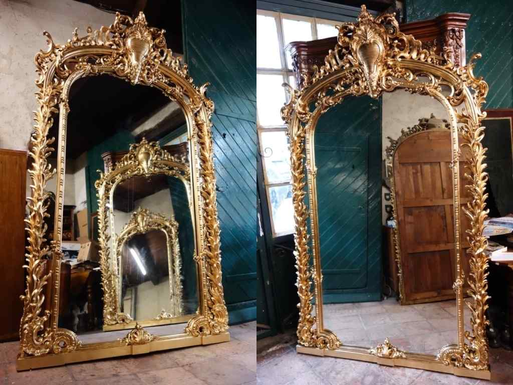 Very large pair of mirrors