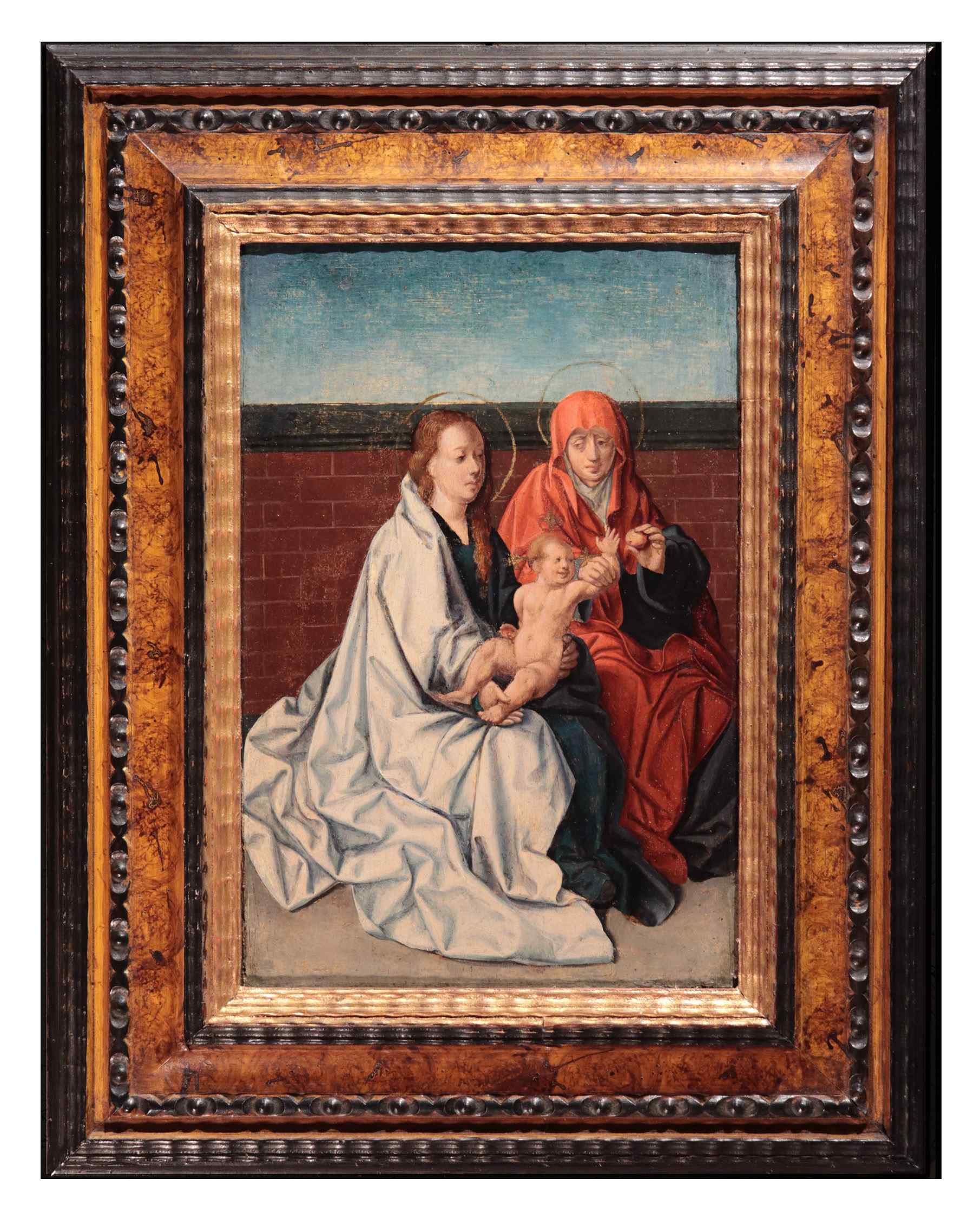 Virgin with Child and St. Anne, Flemish master, c. 1520