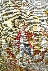 Arazzo Aubusson, firmato Braquenié, fine del XIX secolo-3