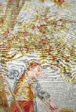 Arazzo Aubusson, firmato Braquenié, fine del XIX secolo-20