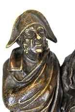Gruppo di personaggi eleganti in bronzo, A Pandiani, XIX-6