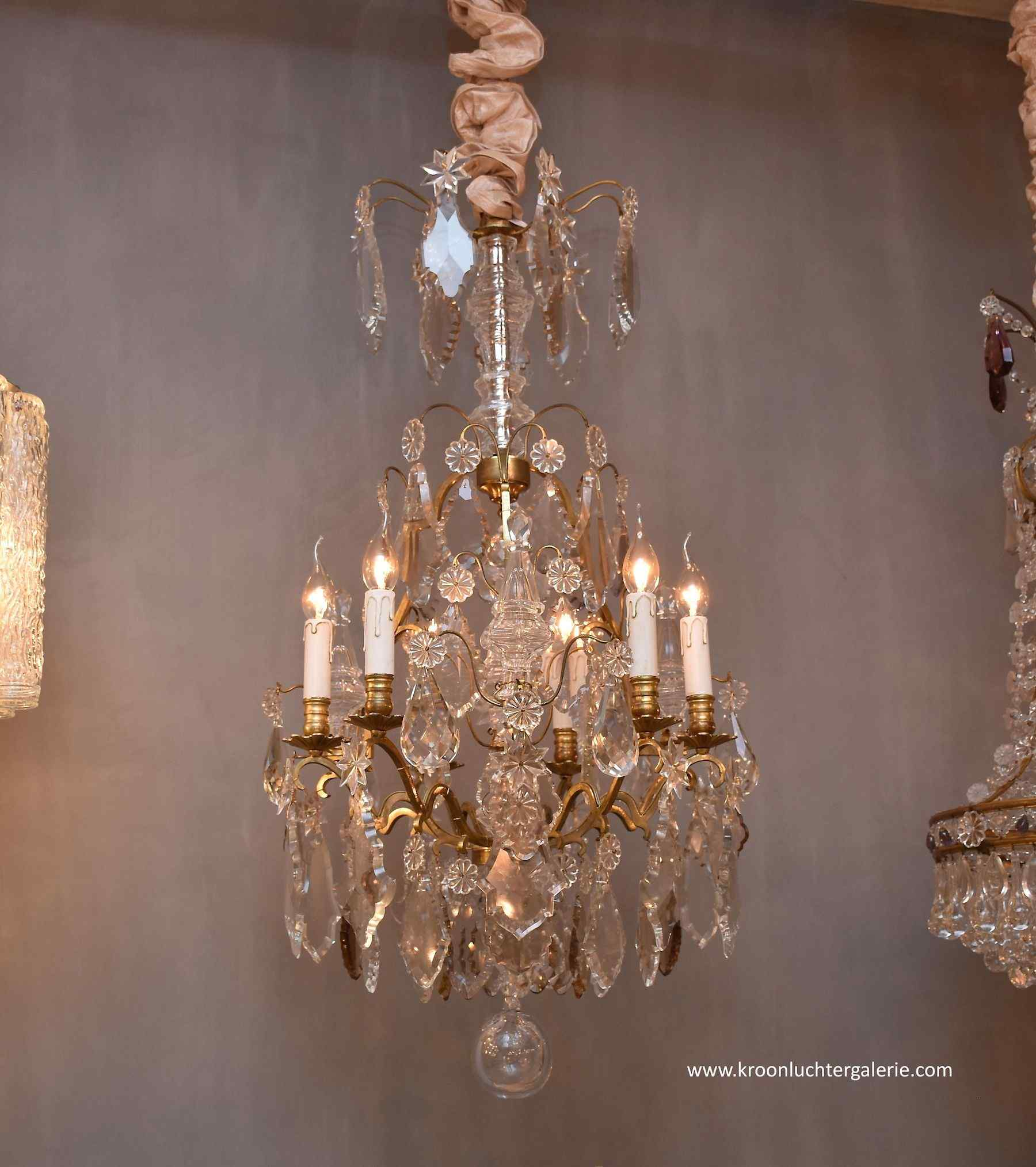 French chandelier in the style of Louis XV