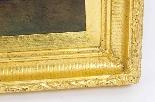 Coppia antica Dipinti ad olio Venezia Alfred Pollentine XIX -8