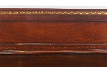 Antique Pair Mahogany and Gilt Serving Tables 19th Century-5