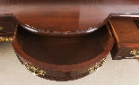 Antique Pair Mahogany and Gilt Serving Tables 19th Century-15