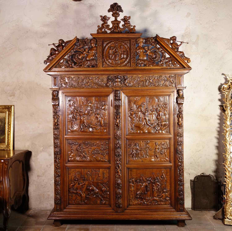 Cevennes Cabinet: Solomon King of Israel, 17th