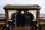Antico vittoriano Amboyna Inlaid Bonheur Du Jour c.1860-2
