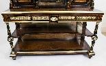 Antico vittoriano Amboyna Inlaid Bonheur Du Jour c.1860-7