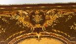 Antico ufficio di intarsio a montatura in bronzo dorato orig-7