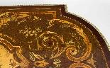 Antico ufficio di intarsio a montatura in bronzo dorato orig-9
