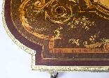 Antico ufficio di intarsio a montatura in bronzo dorato orig-5