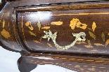 Cabinet Antique Hollandais En Marqueterie Et Noyer Sur Commo-9