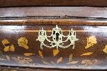 Cabinet Antique Hollandais En Marqueterie Et Noyer Sur Commo-11