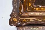 Cabinet Antique Hollandais En Marqueterie Et Noyer Sur Commo-4