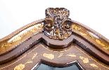 Cabinet Antique Hollandais En Marqueterie Et Noyer Sur Commo-3