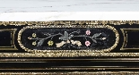Antique Napoleon III Pietra Dura Ebonised Credenza c.1840-3