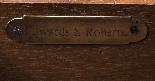 Antique Victorian Cylinder Bureau di Edwards & Roberts-22