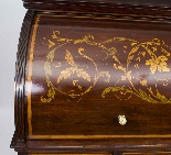 Antique Victorian Cylinder Bureau di Edwards & Roberts-4