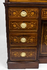 Antique Victorian Cylinder Bureau di Edwards & Roberts-7