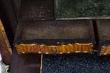Antique Rococo Revival Marquetry Secretaire a Abattant C1850-17