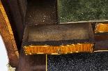 Antique Rococo Revival Marquetry Secretaire a Abattant C1850-16