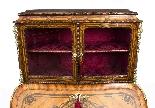 Antico francese Bonheur du Jour Kingwood & Marquetry c.1850-4