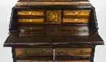 Antique Italian Renaissance Revival Marquetry Bureau 18th C-11