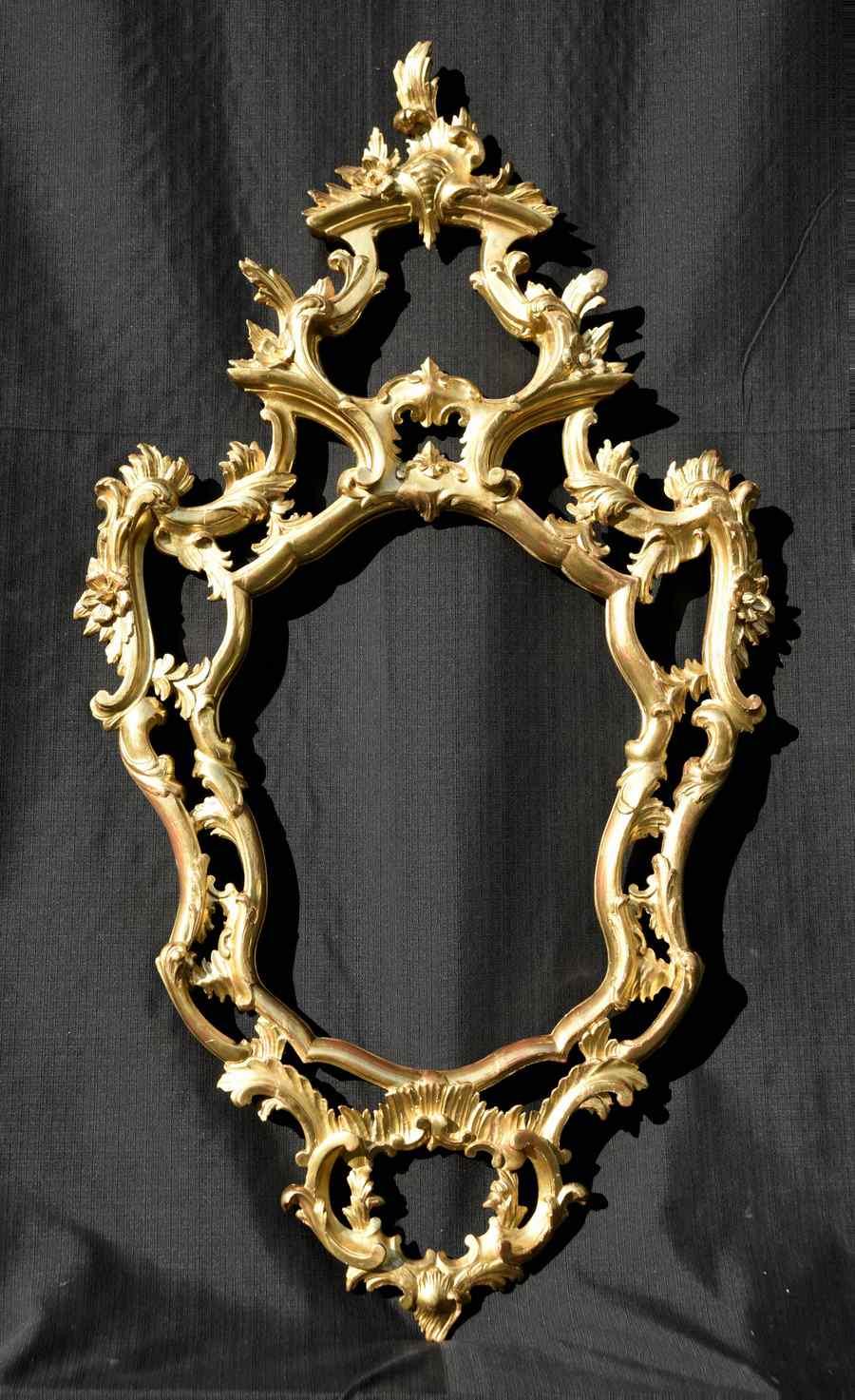Antique Baroque style mirror