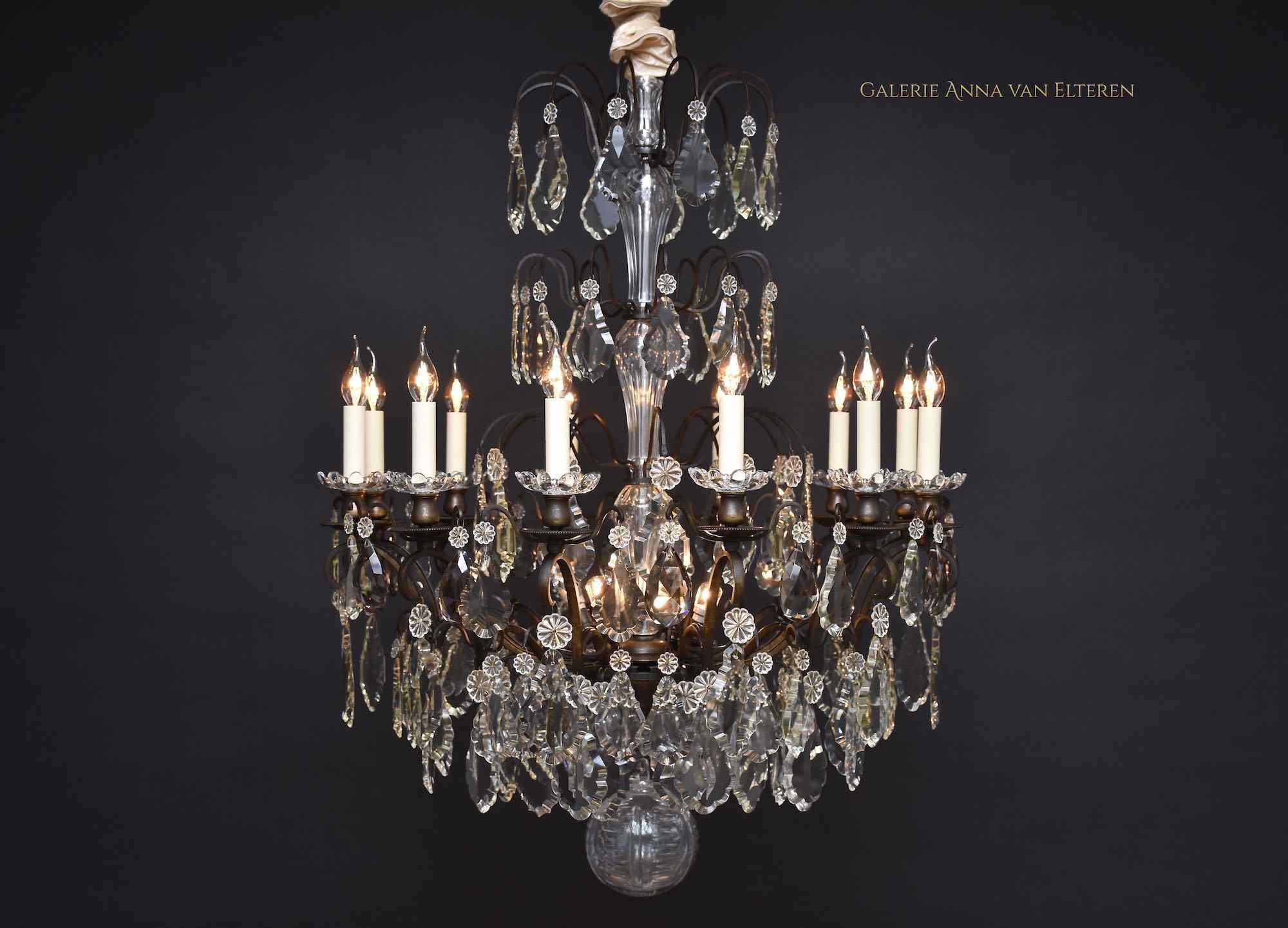 Grand lustre antique français