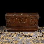 Antique 16th century Dutch treasure chest-0