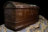 Antique 16th century Dutch treasure chest-1