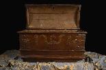 Antique 16th century Dutch treasure chest-2