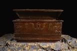 Antique 16th century Dutch treasure chest-3