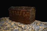 Antique 16th century Dutch treasure chest-4