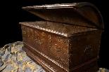 Antique 16th century Dutch treasure chest-6