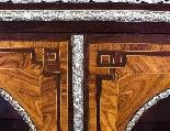 Antique Victorian Burr Walnut Low Display Cabinet C1860-3