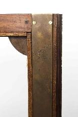Vetrina Kingwood antica montata su Ormolu francese-7