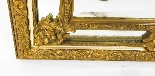 Antique French Giltwood Overmantel Louis Revival Mirror-5
