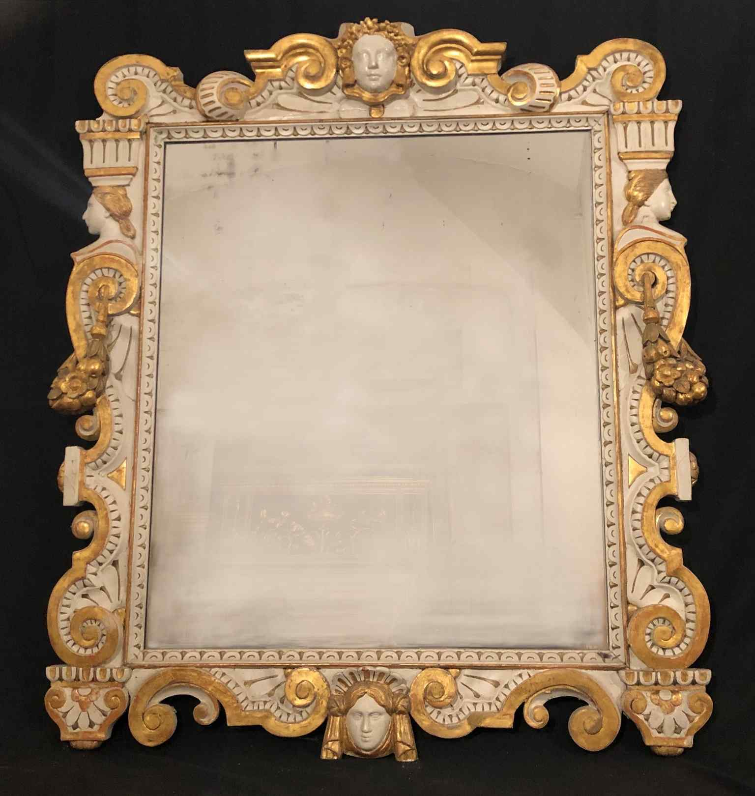 Ancient Neoclassical Mirror