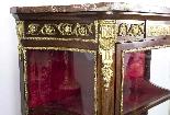 Vetrina antica francese in stile francese Revival 1870-3