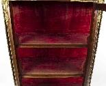 Vetrina antica francese in stile francese Revival 1870-5