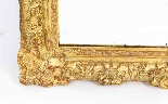 Antique French Louis Revival Giltwood Overmantel Mirror-5