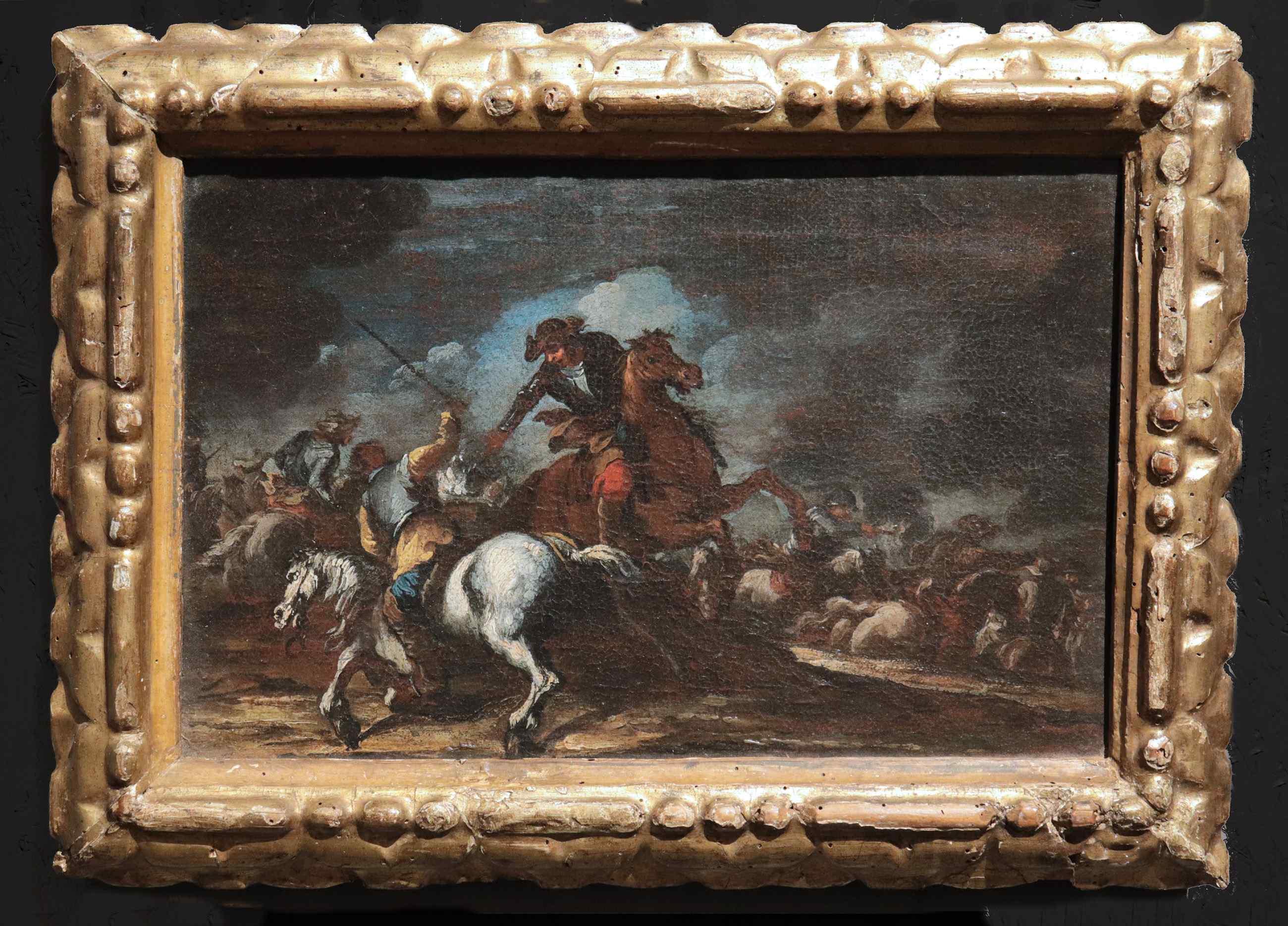 Giuseppe Zais ( 1709-1774) - Scena di battaglia
