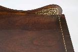 Cassettiera in ottone antico regency intarsiato c.1820-5