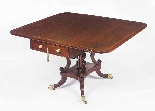 Antique Regency George III Pembroke Table Gillows c.1820-2